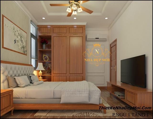 Nội that gỗ tự nhiên phòng ngủ 1