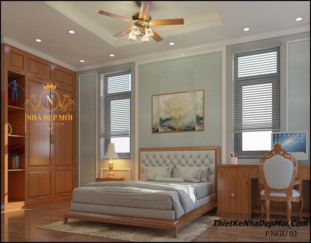 Trang trí phòng ngủ đẹp cho con trai