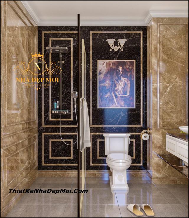 Thiết kế phòng tắm wc cổ điển