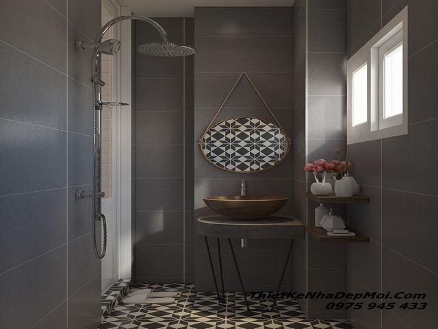 nhà vệ sinh phòng trọ