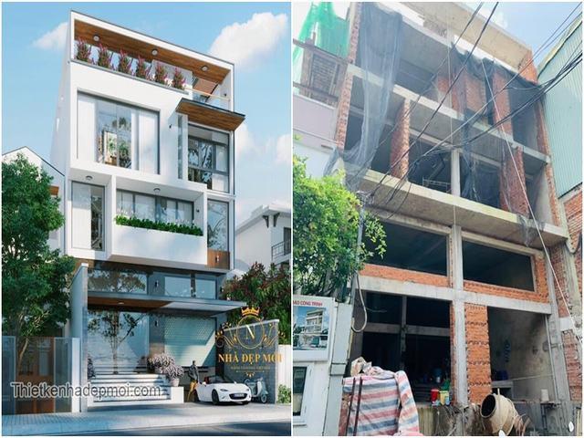 Thiết kế nhà làm văn phòng cho thuê Hà Nội