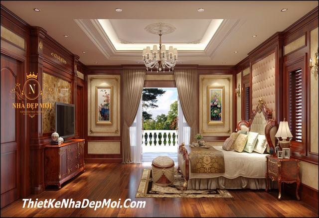 Mẫu nội thất lâu đài phong cách cổ điển