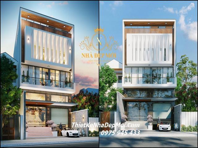 Biệt thự nhà phố đẹp 9m kinh doanh