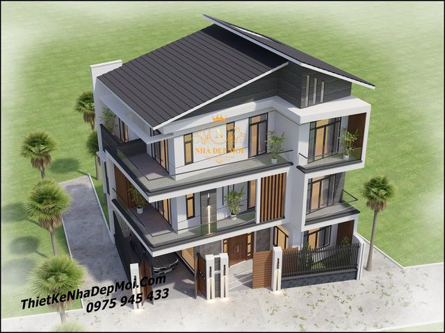 Thiết kế nhà trên đất không vuông