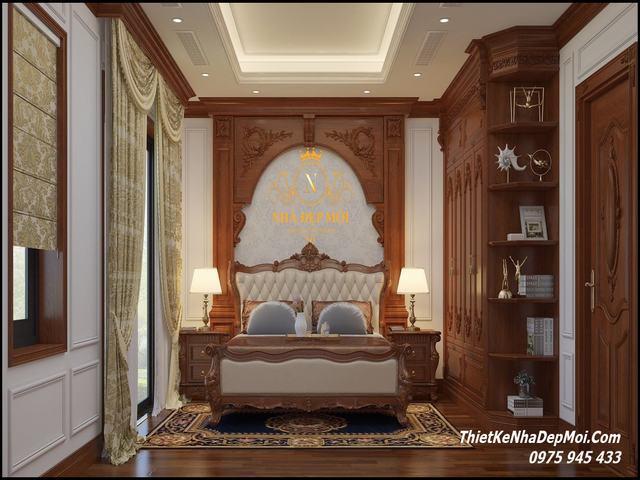 Nội thất đẹp phòng ngủ biệt thự