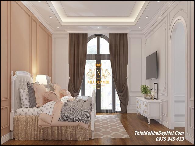 Thiết kế phòng ngủ cho bé gái 2021