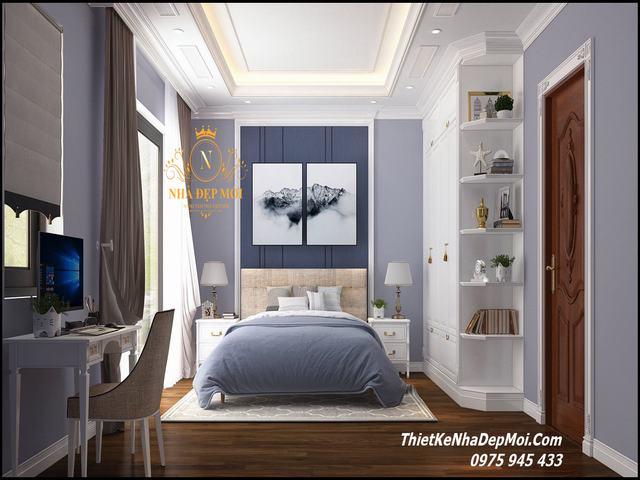Thiết kế nội thất phòng ngủ hiện đại cho bé trai