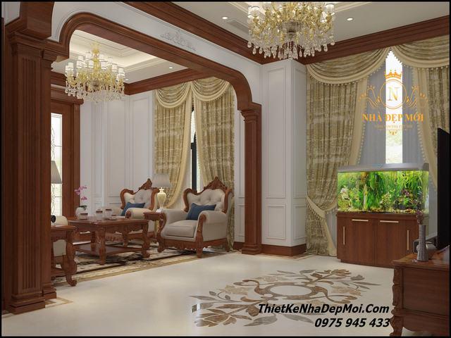 Phong cách thiết kế nội thất biệt thự 2021