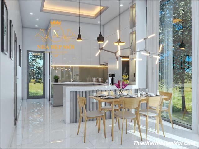 Cách trang trí nội thất nhà hiện đại 8m