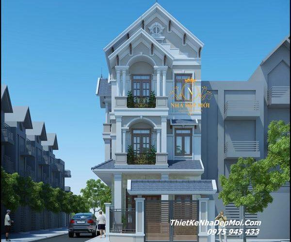 Hình ảnh nhà phố 2 mặt tiền đẹp