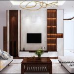 Nội thất nhà 1 tầng mái thái 9x18