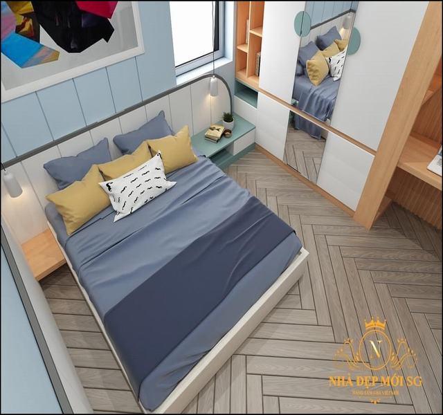 Phòng ngủ đơn giản của vợ chồng