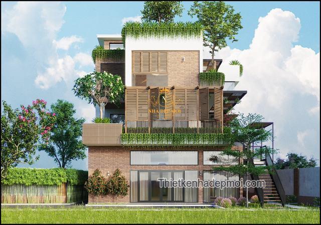 Biệt thự kiến trúc xanh Việt Nam