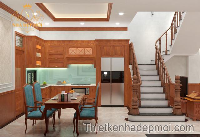 Thiết kế nội thất nhà phố 5x20