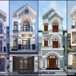 Những mẫu nhà đẹp 5x20 3 tầng