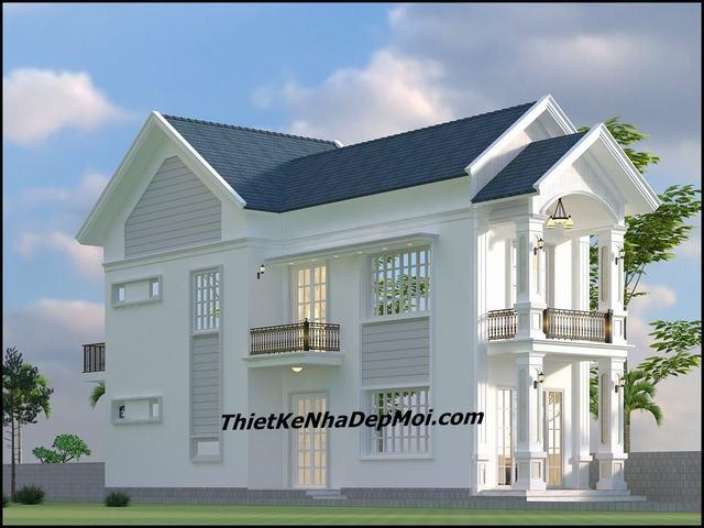Nhà 1 trệt 1 lầu 7x15