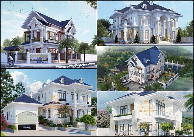 Những mẫu biệt thự đẹp nhất mới 2021