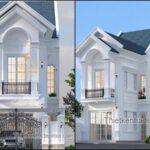 Các mẫu nhà mặt tiền 6m đẹp 2021