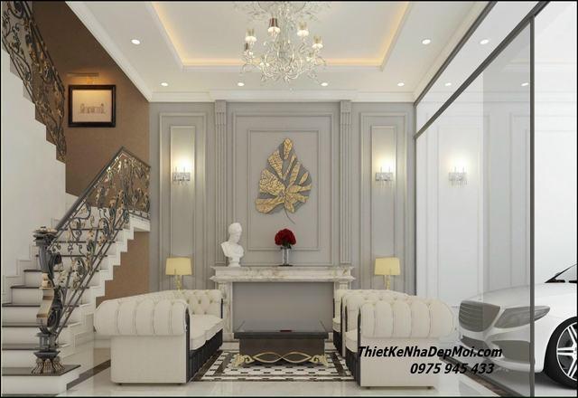Phong cách nội thất tân cổ điển hiện đại