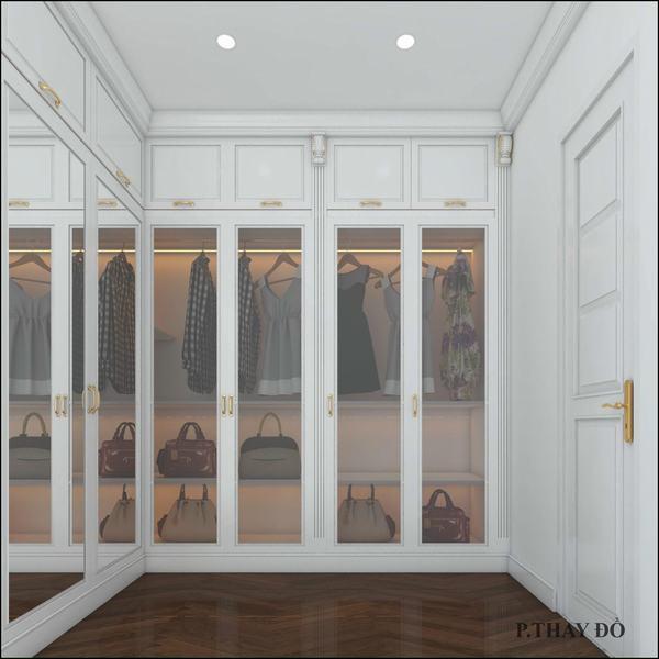 Phong cách nội thất tân cổ điển nhẹ nhàng nhà ống
