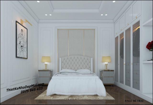 phòng ngủ phong cách tân cổ điển