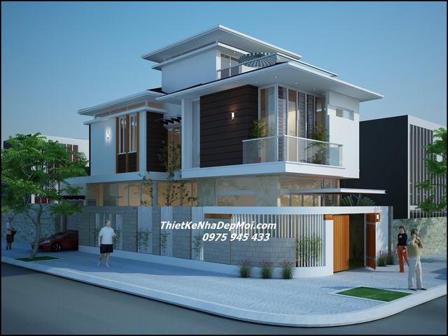 Nhà 2 mặt tiền 1 trệt 1 lầu 1 sân thượng 2021