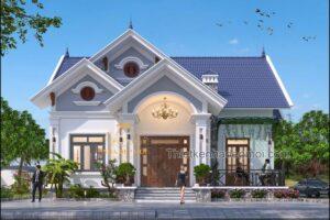 Nhà kiểu Thái trệt đẹp