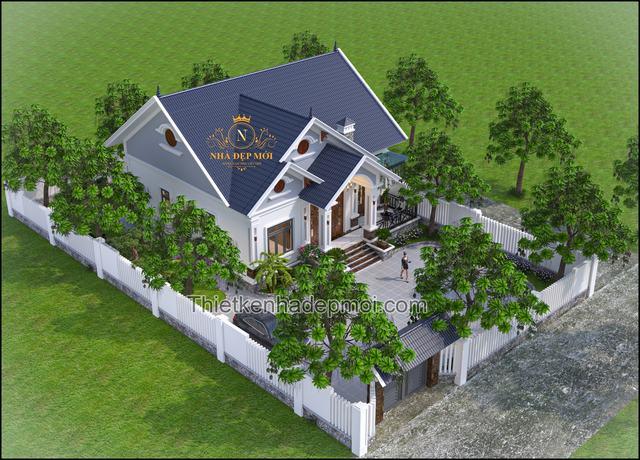 nhà vườn nóc Thái đẹp