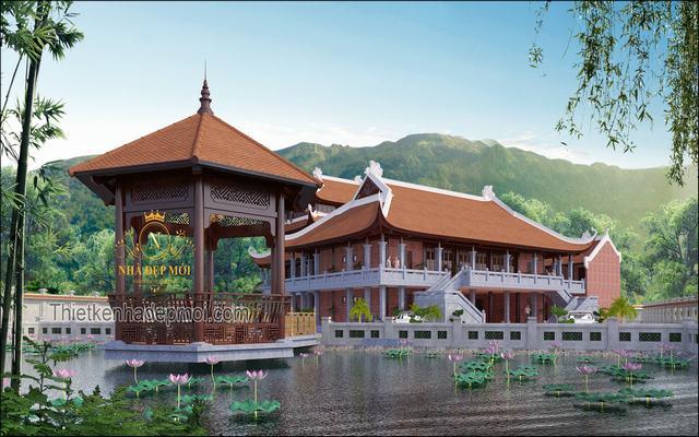 nhà thờ họ hai tầng độc đáo nhất Việt Nam