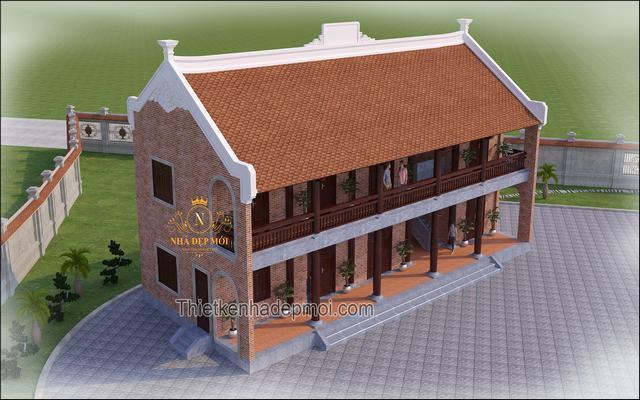 Hồ sơ thiết kế nhà thờ 2 tầng