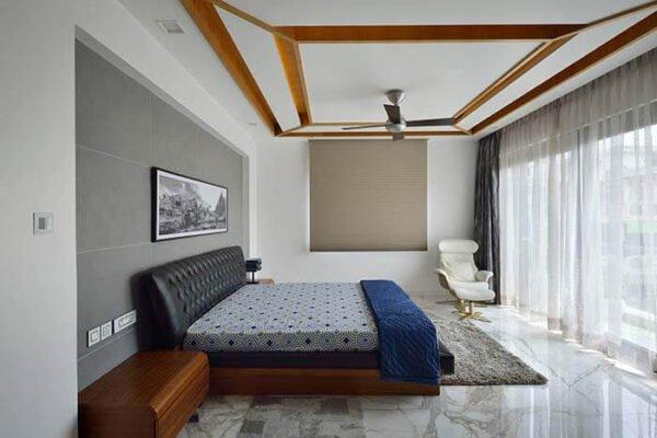 Thiết kế phòng ngủ đơn giản mà đẹp trong môi trường sống hiện đại