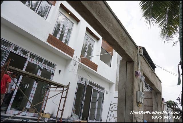 giá thi công trọn gói nhà phố 2021