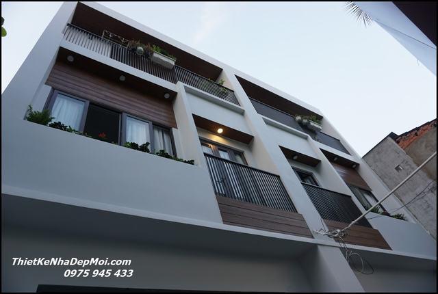 Báo giá xây hoàn thiện nhà phố 2021