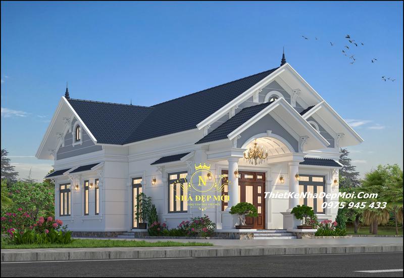 Mẫu nhà nóc thái đẹp 2022