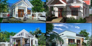 7 mẫu nhà cấp 4 lợp tôn đẹp