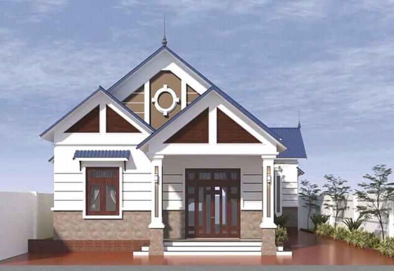 nhà đẹp thôn quê Việt nam