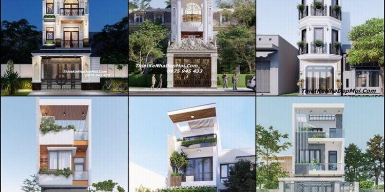 Cập nhật những mẫu phối cảnh nhà phố đẹp có đính kèm bản vẽ chi tiết hồ sơ hoàn chỉnh 2022
