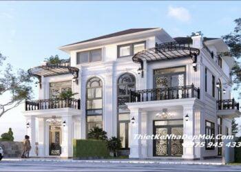 Thiết kế nhà biệt thự liền kề 3 tầng