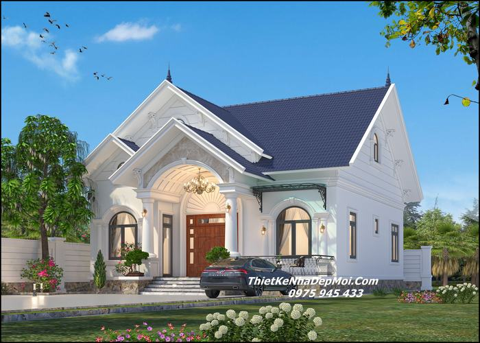 nhà đẹp miền Tây nóc Thái