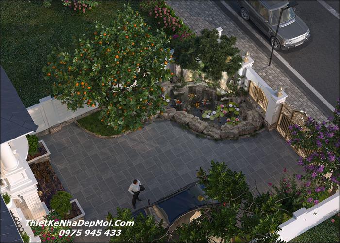 Nhà có sân vườn đẹp