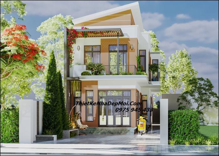 Nhà đẹp 7x20m 2 tầng 4 phòng ngủ