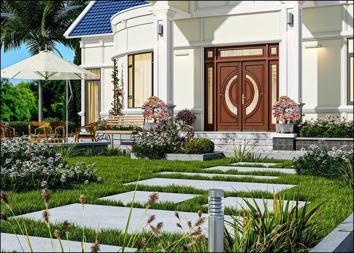 Nhà vườn đẹp ở tại Hải Phòng